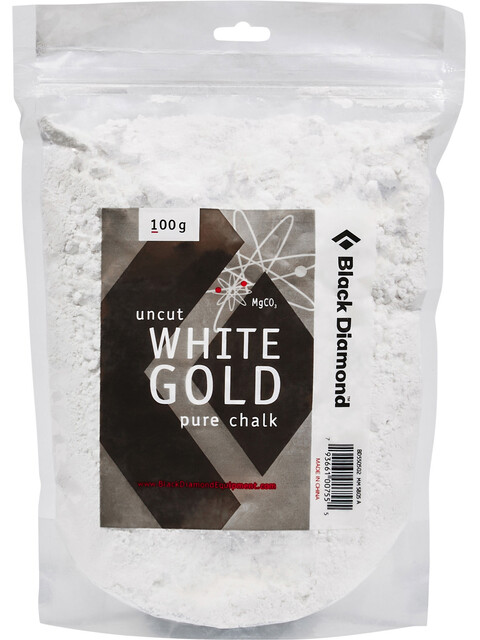 Black Diamond Uncut White Gold Pure Chalk Loose 100 g